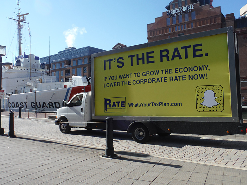 Mobile Billboard Advertising in Baltimore, MD