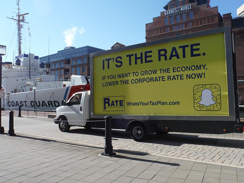 Mobile Billboard Advertising in Baltimore, MD