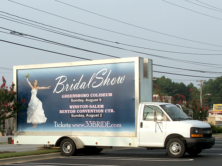 Mobile Billboard Advertising in Greensboro, NC