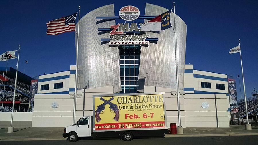 Mobile Billboard Advertising in Charlotte, NC