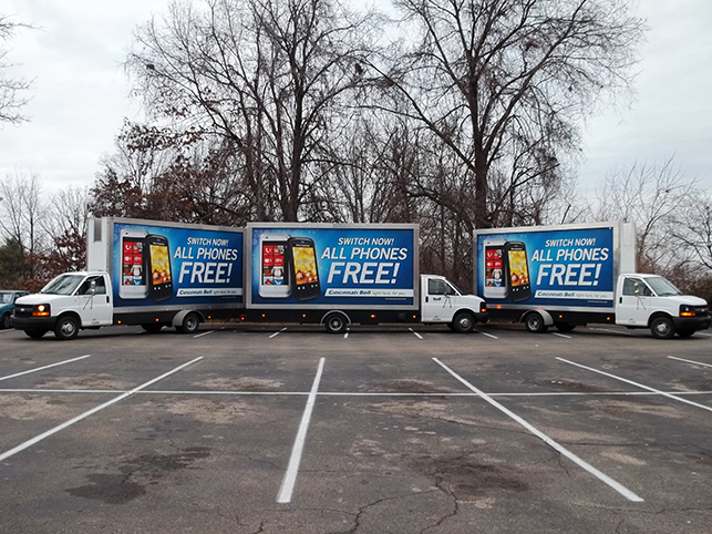 Mobile Billboard Advertising in Buffalo / Niagara Falls, NY