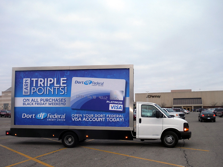 Mobile Billboards in Ann Arbor, MI