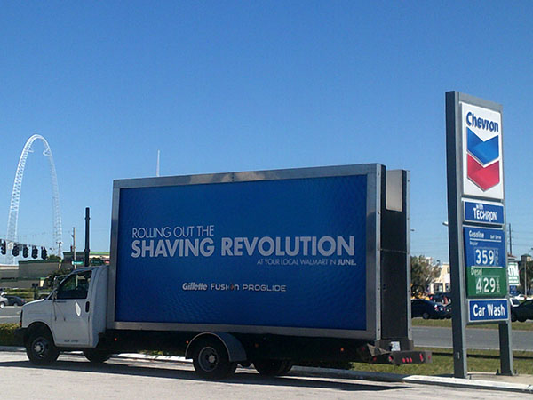 Mobile Billboard Advertising in San Antonio, TX