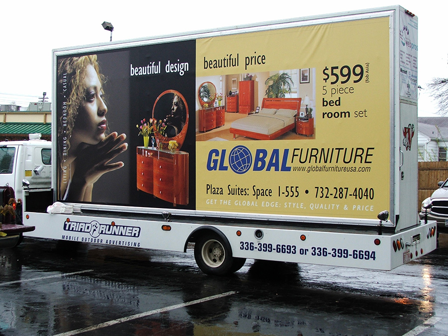 Mobile Billboard Advertising in Lexington, NC