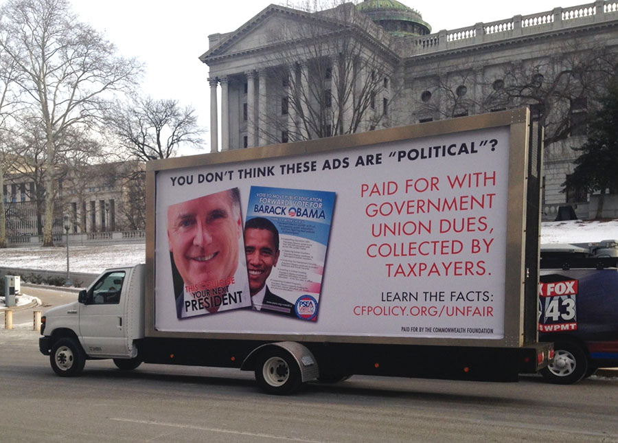 Mobile Billboard Advertising in Richmond/Petersburg, PA