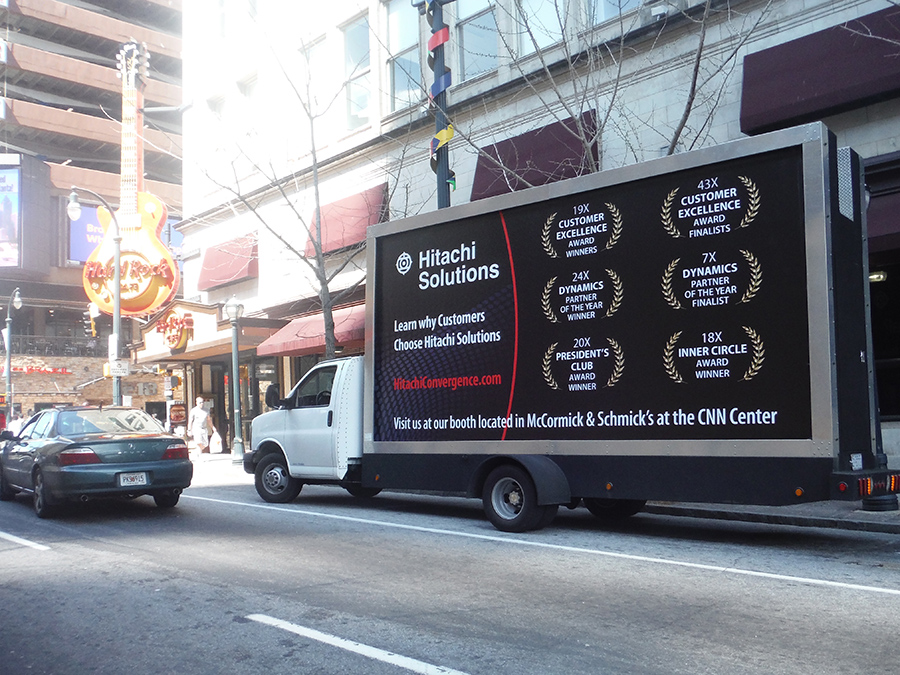 Mobile Billboard Advertising in Atlanta, GA