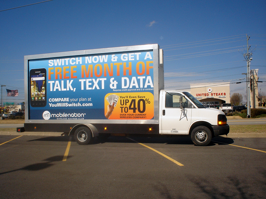 Mobile Billboard Advertising in Austin, TX