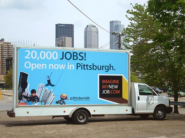 Mobile Billboard Advertising in Pittsburgh, PA