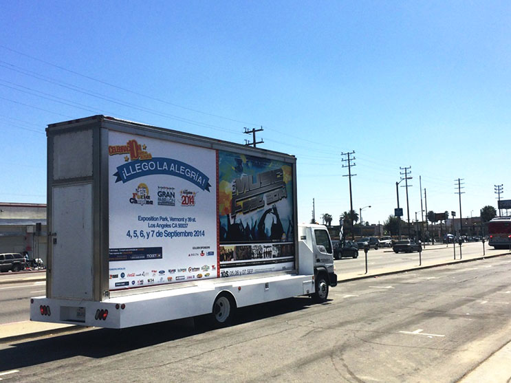 Mobile Billboard Advertising in San Jose/Sunnyvale/Santa Clara, CA