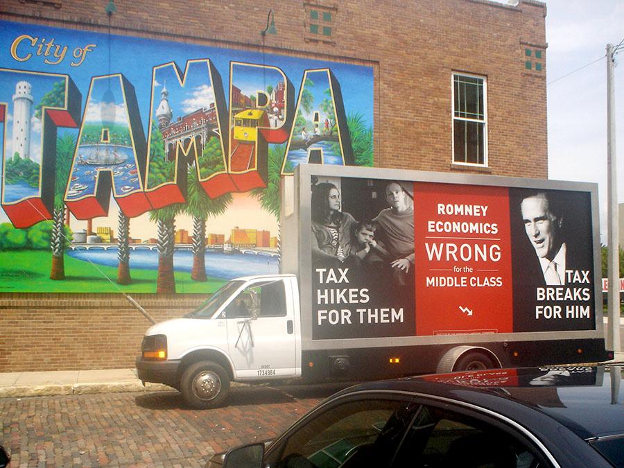 Mobile Billboard Advertising in Tampa/Sarasota, FL