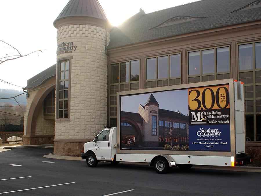 Mobile Billboards in Asheville, NC