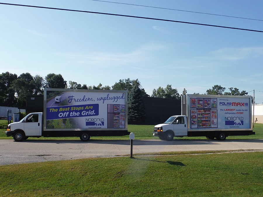 Mobile Billboard Advertising in Central Indiana, IN