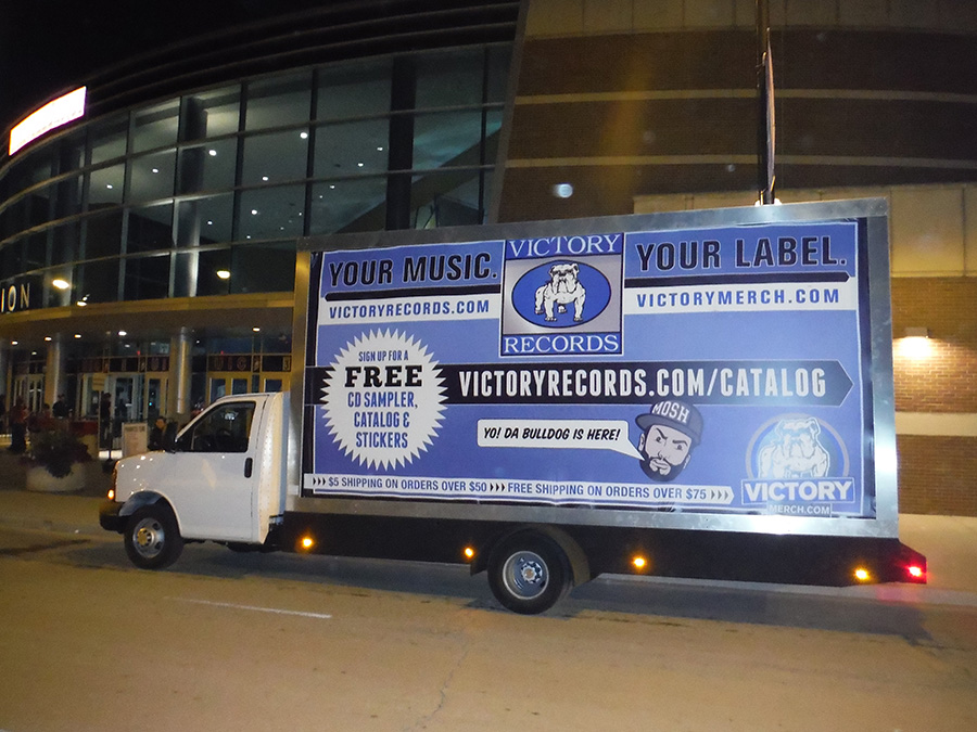 Mobile Billboard Advertising in Quad Cities, Illinois / Iowa