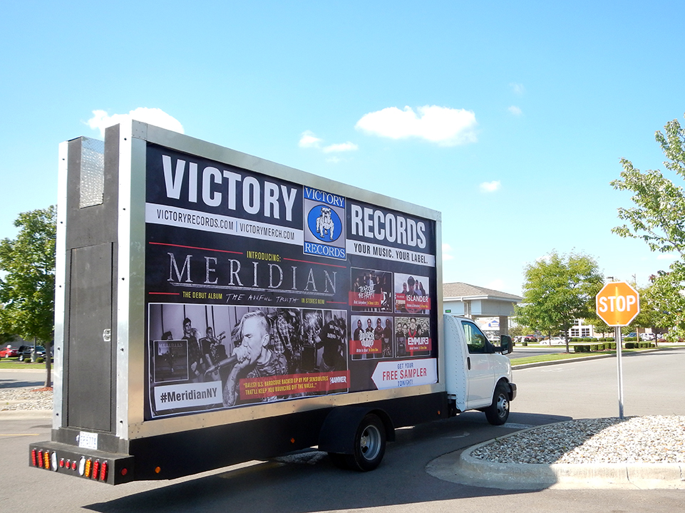 Mobile Billboard Advertising in Detroit, MI
