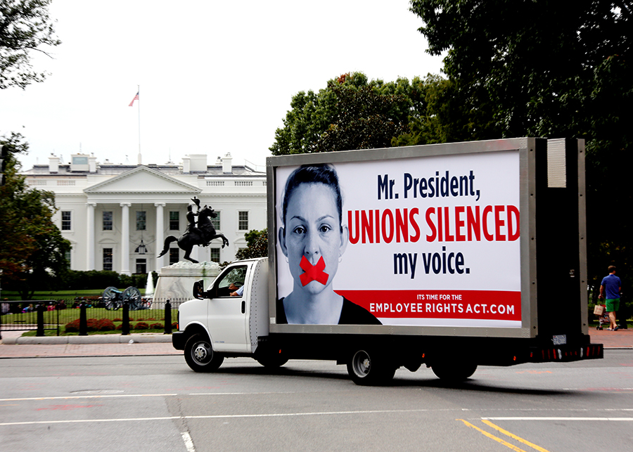 Mobile Billboard Advertising in Washington, D.C.