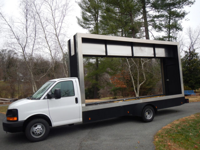 Mobile Billboard Trucks - Truck Fabrication - Ad Runner
