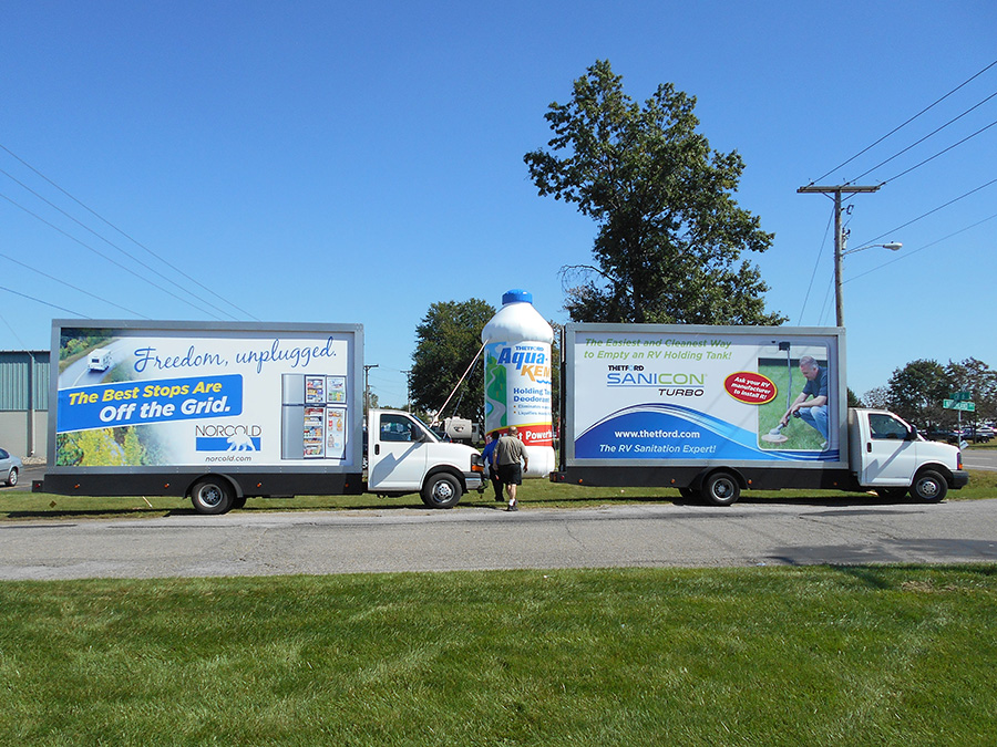 Mobile Billboard Advertising in Indiana