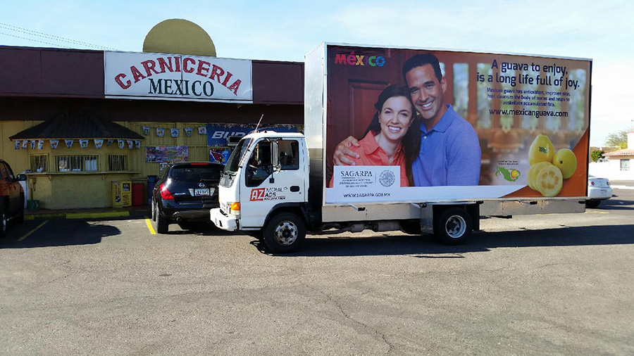 Mobile Billboard Advertsing in Arizona