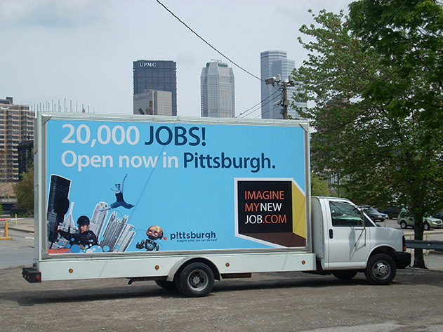 Mobile Billboard Advertising in Pennsylvania