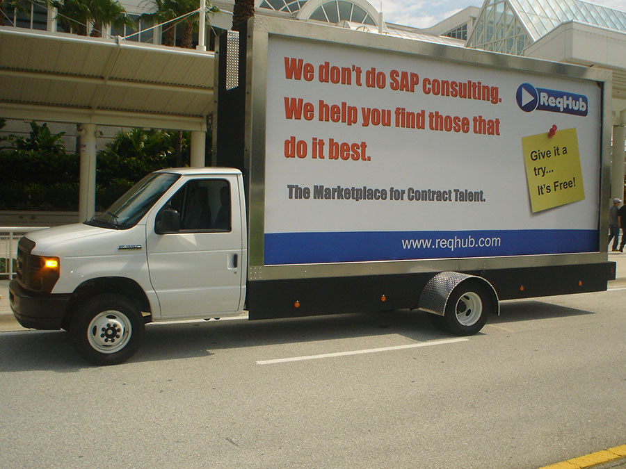 Mobile Billboard Advertising in Washington