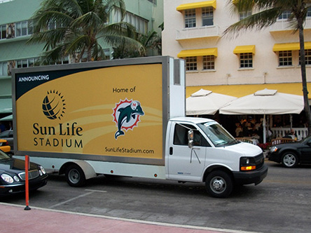 Mobile Billboard Advertising in Florida