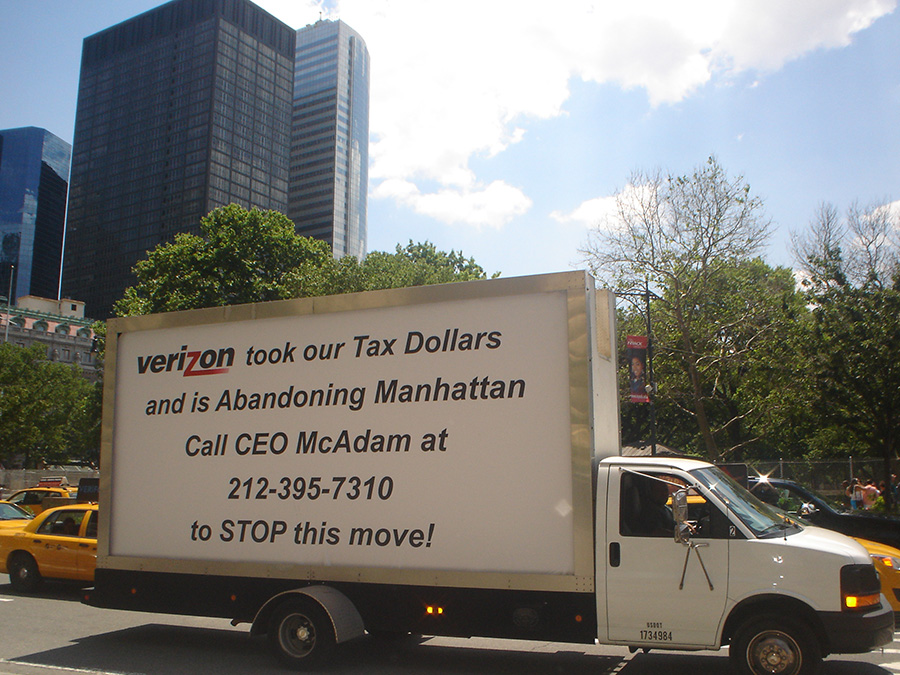 Mobile Billboard Advertising in New York