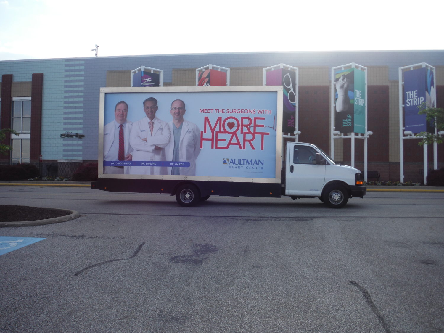 Mobile Billboards in Akron / Cleveland / Canton, OH