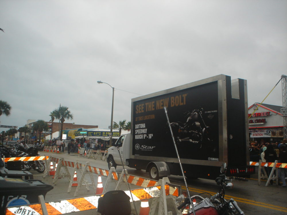 Mobile Billboard Advertising in Daytona Beach, FL