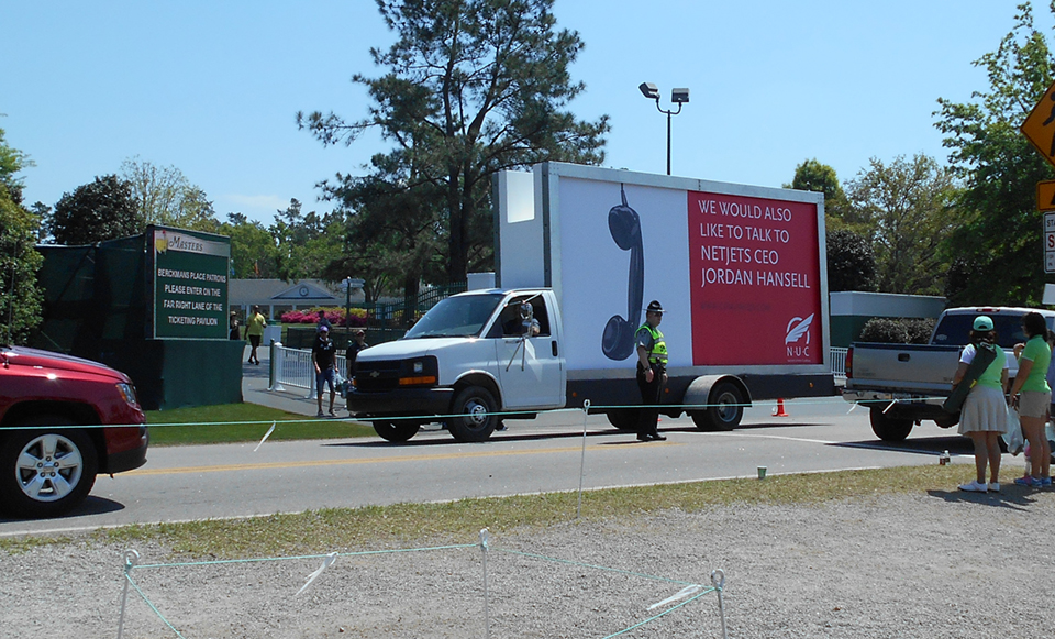 Mobile Billboard Advertising in Georgia