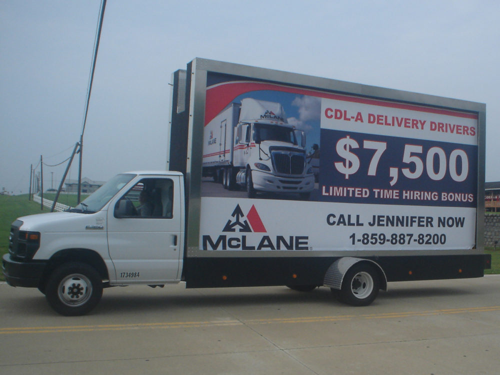 Mobile Billboard Advertising in Kansas