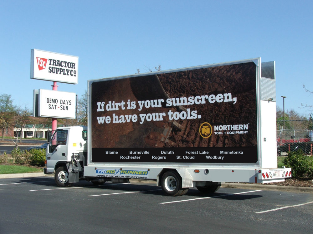 Mobile Billboard Advertising in Minnesota