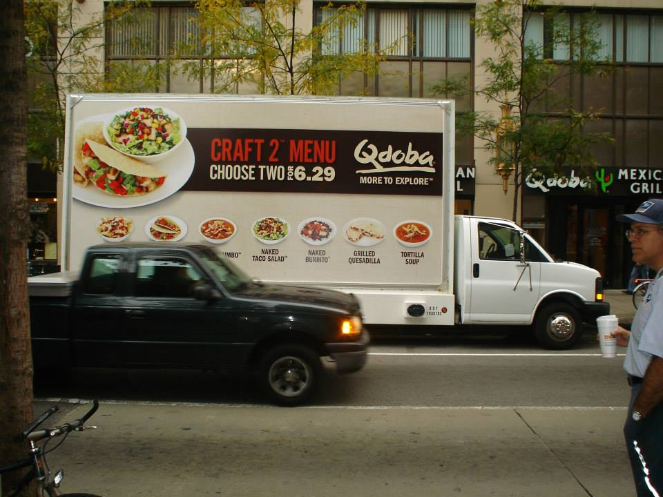 Mobile Billboard Advertising in Nebraska