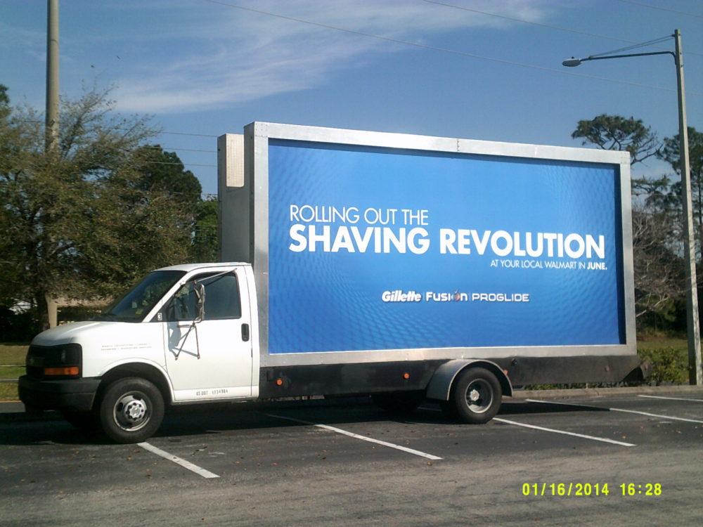 Mobile Billboard Advertising in Mississippi