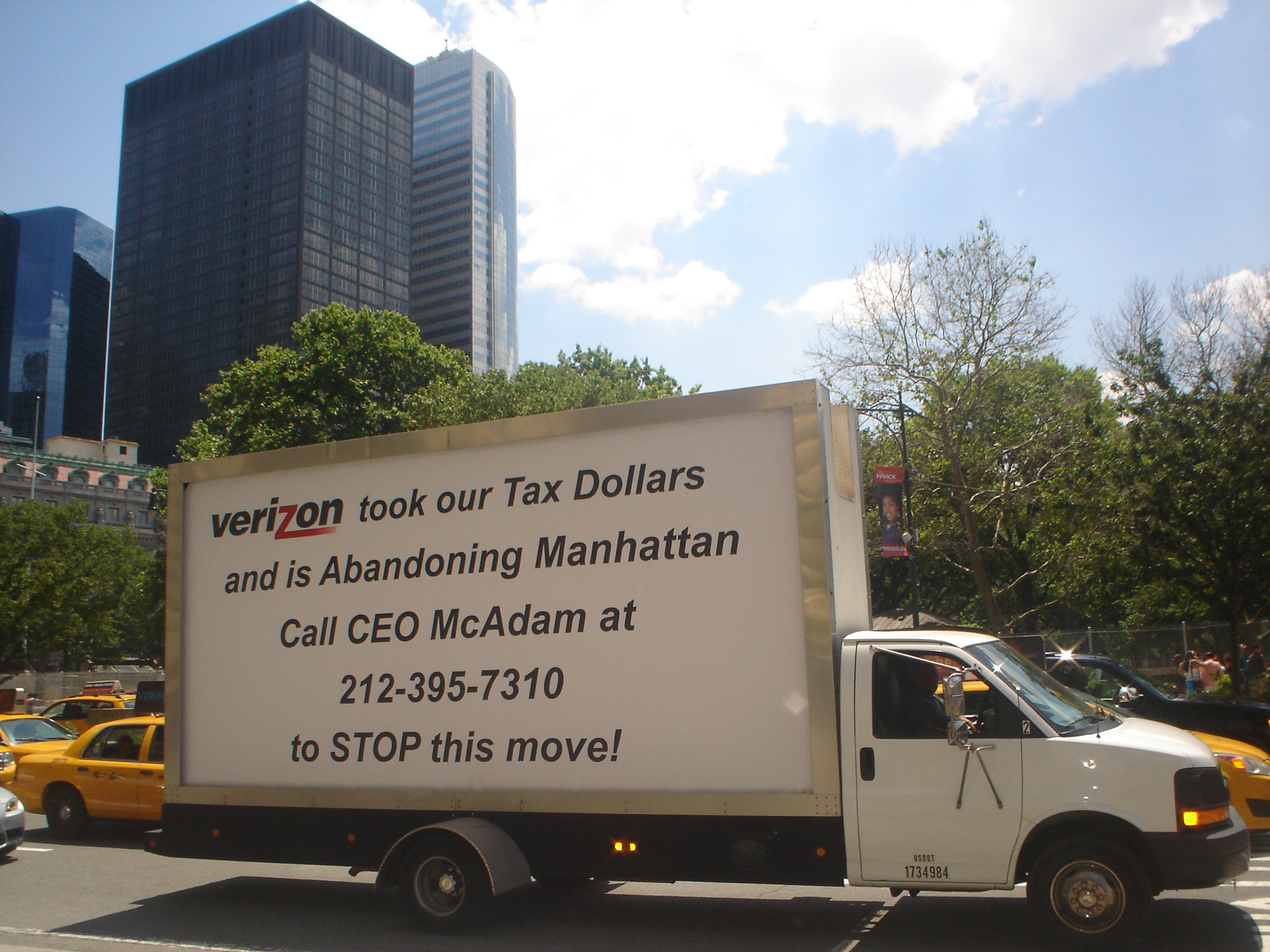 Mobile Billboard Advertising in New York, NY
