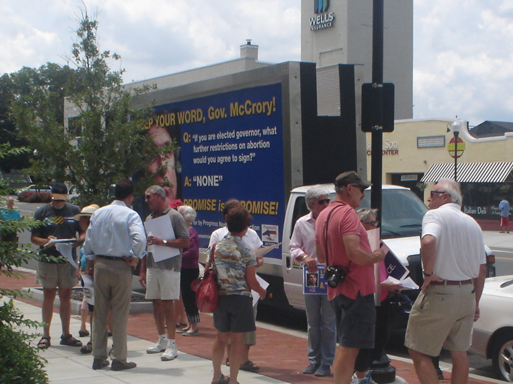 Mobile Billboard Advertising in Wilmington, NC
