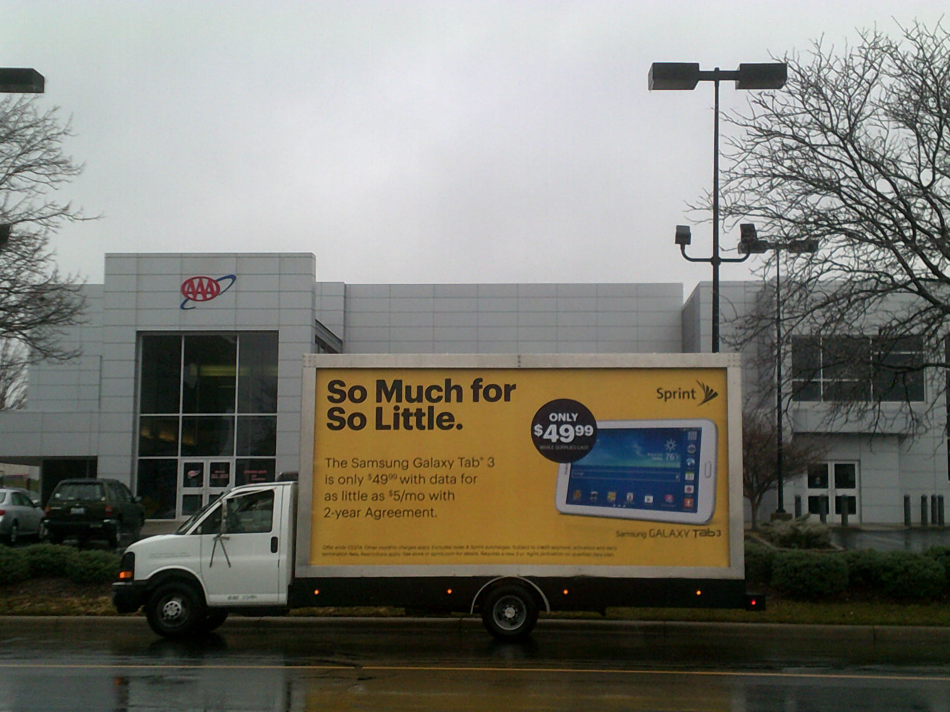 Mobile Billboard Advertising in Indianapolis, IN
