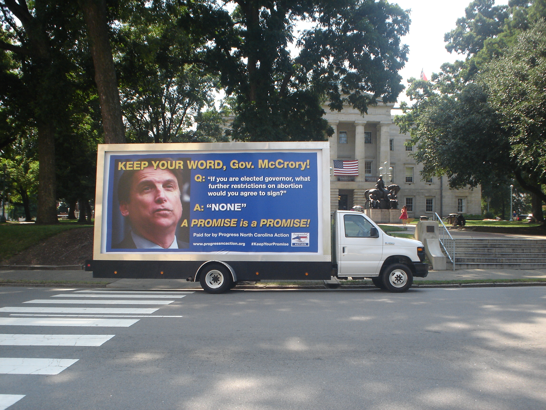 Mobile Billboard Advertising in Raleigh, NC