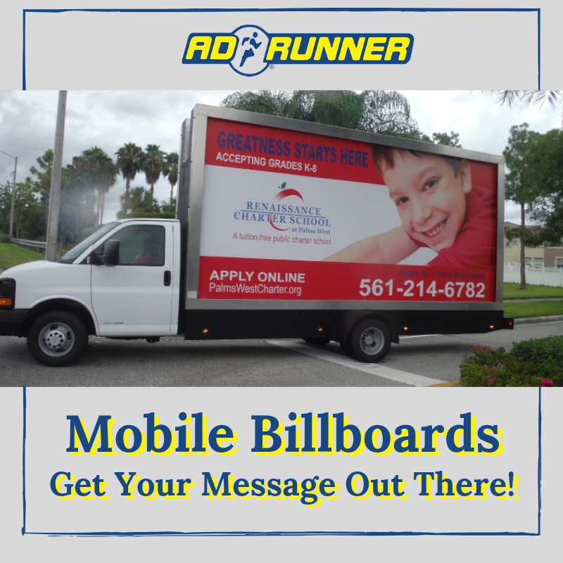 Mobile Billboards Get Your Message Out There!