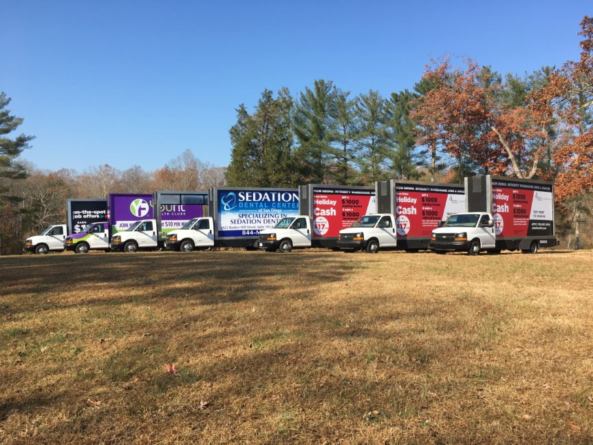 Mobile Billboard Trucks for Sale - Ad Runner Mobile Advertising