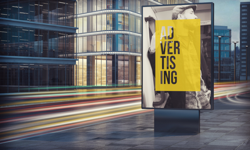 Banners and signs can give your audience access