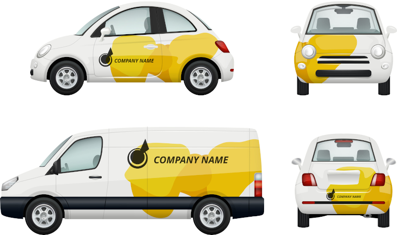 Design an Attractive and Effective Custom Car Wrap for Your Business